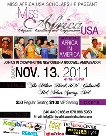 Miss Africa USA 2011 pageant